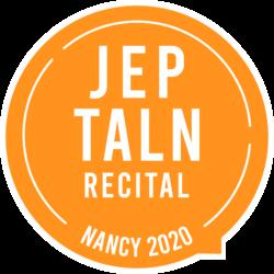 JEP-TALN-RECITAL 2020